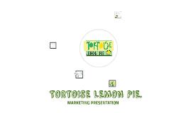 TORTOISE LEMON PIE