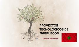 PROYECTOS TECNOLOGICOS DE MARRUECOS