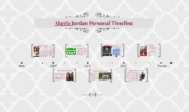 Akeyla Jordan Personal Timeline
