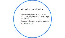 Problem Defintion