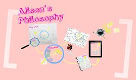 Alison's Treatment Philosophy