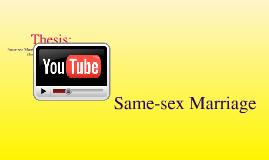 Copy of Same-sex Marriage