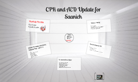 CPR and AED Update Saanich