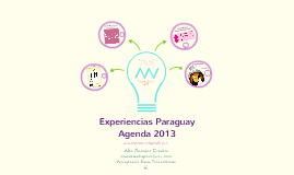 Experiencias Paraguay-Agenda 2013
