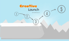 Investigacin documental y de campo by emmanuel yaez on prezi prezi template with a creative start or problem solving concept launch your idea on a winter background with and an icy cliff and blue sky ccuart Gallery