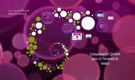 COMUNICACION EFECTIVA PARA EL PROFESIONAL DE LA SALUD