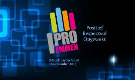 Basisscholen op Pro Emmen