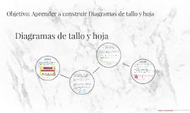 Diagrama de Tallo y hoja