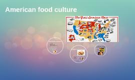 American food culture