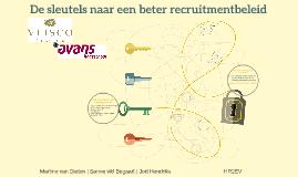 De sleutels naar een beter recruitmentbeleid