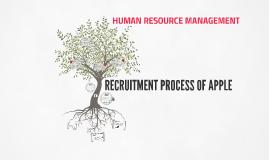recruitment process of apple by sai kishan on prezi