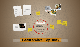 Want a wife essay
