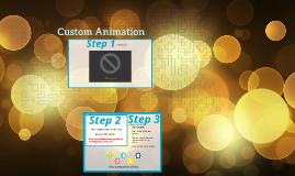 Copy of Custom Animation Directions