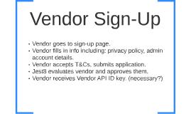 Vendor Sign-Up