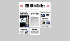 1985 NBA Draft Lottery