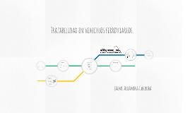 Trazabilidad en componentes de vehiculos ferroviarios.