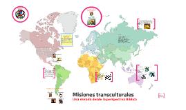 Misiones transculturales