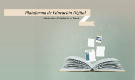 Plataforma de Educación Digital