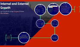 Internal and External Growth