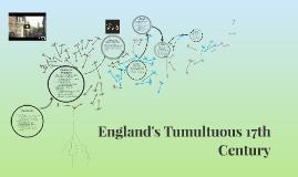 England's Tumultuous 17th Century
