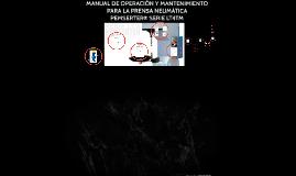 Prensa neumatica LT/4