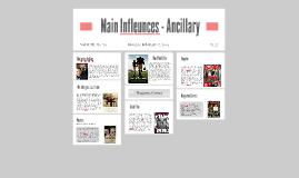 Main Infleunces - Ancillary