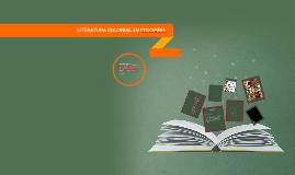 LITERATURA COLONIAL EN COLOMBIA