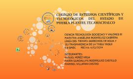 COLEGIO DE ESTUDIOS CIENTÍFICOS Y TECNOLÓGICOS DEL ESTADO DE