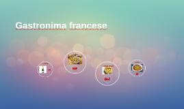 Gastronima francese