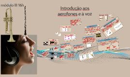 Introdução aos aerofones e à voz
