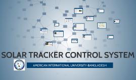 Copy of SOLAR TRACKER CONTROL SYSTEM