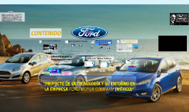 Proyecto Ford Motor Company