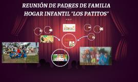 Copy of REUNIÓN DE PADRES DE FAMILIA
