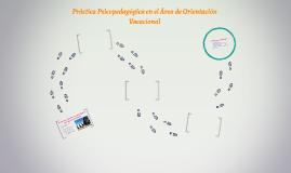 Práctica Psicopedagógica en el Área de Orientación Vocacional