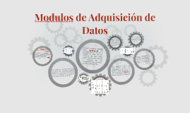 Modulos de Adquisición de Datos