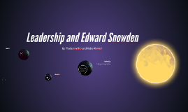 Leadership and Edward Snowden