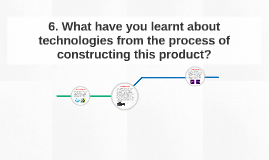 6. What have you learnt about technologies from the process