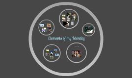 Elements of my Identity