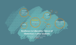 Resilience: voices of elementary latino students