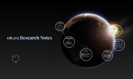 06.03 Research Notes