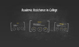 Academic Assistance in College