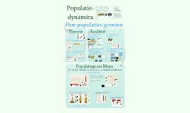 Ecologie: Deel 2 - Populaties