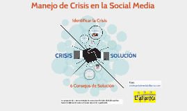 Copy of Manejo de Crisis en la Social Media
