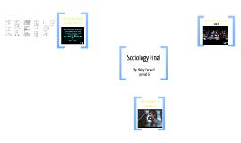 Sociology Final