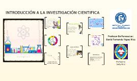 Exposición disciplina cientifica grado sexto