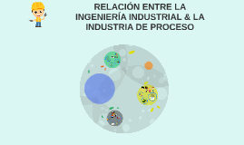 RELACION ENTRE LA INGENIERIA INDUSTRIAL & LA INDUSTRIA DE PR