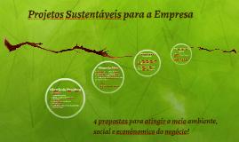 Um projeto sustentável para a empresa