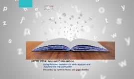 NCTE Presentation
