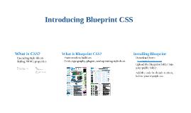 Introducing Blueprint CSS