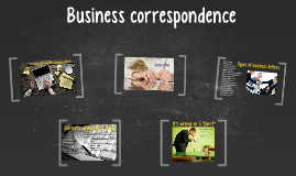 Copy of Business correspondence
